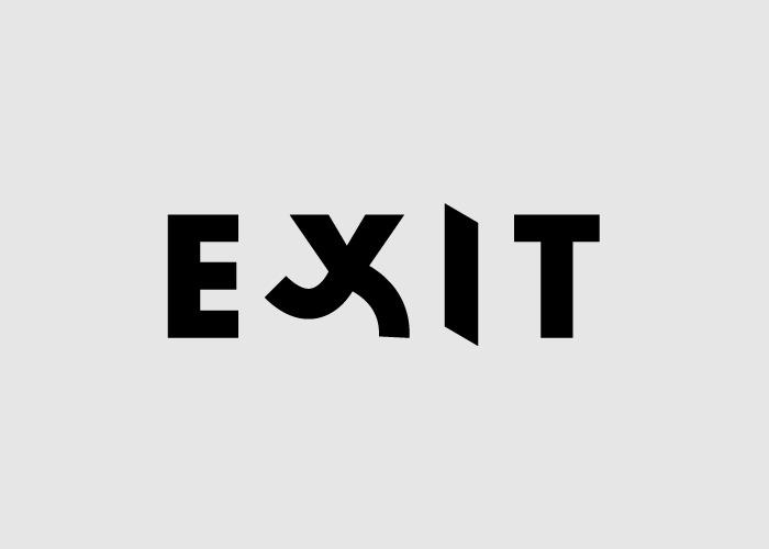 Логотипы из слов со скрытым смыслом. Беги к выходу