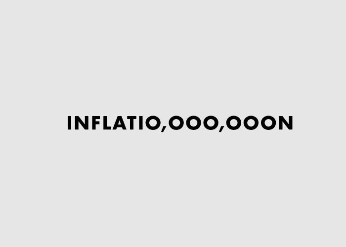 Логотипы из слов со скрытым смыслом. Инфляция