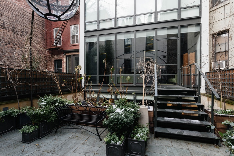 Терраса. Jane Street Townhouse II, West Village, New York