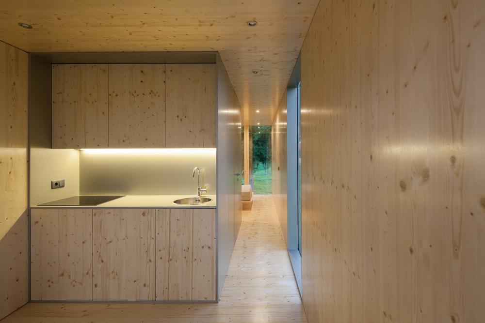 Мини-дом Mima Light, кухня