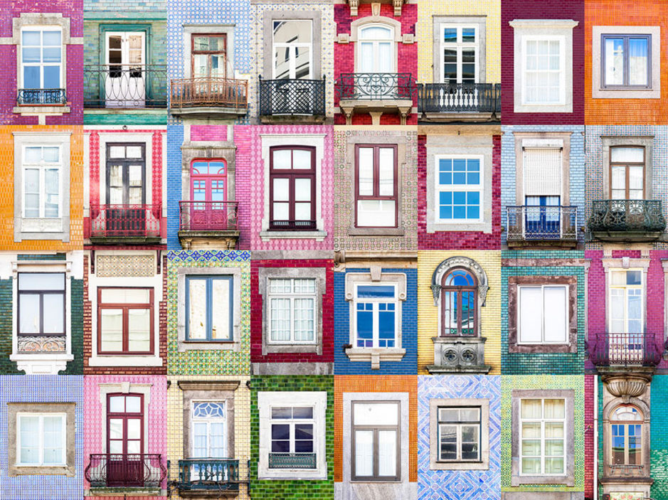 Porto windows by Andre Vicente Goncalves
