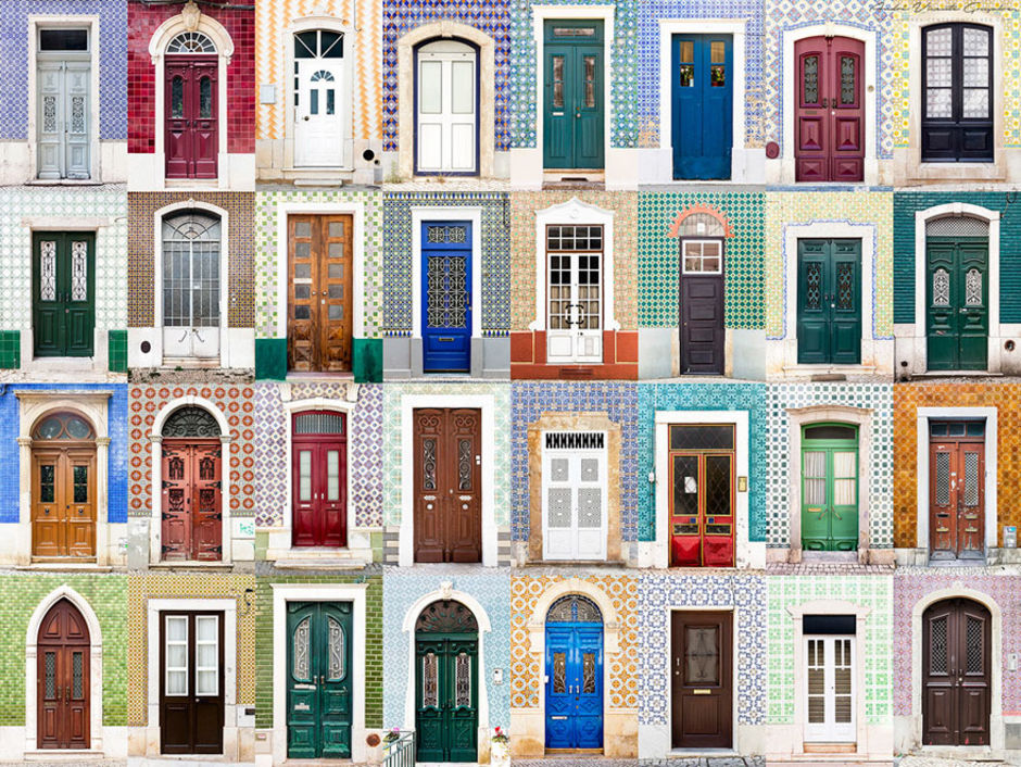 Portugal doors by Andre Vicente Goncalves