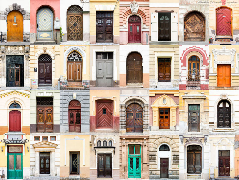 Romania doors by Andre Vicente Goncalves