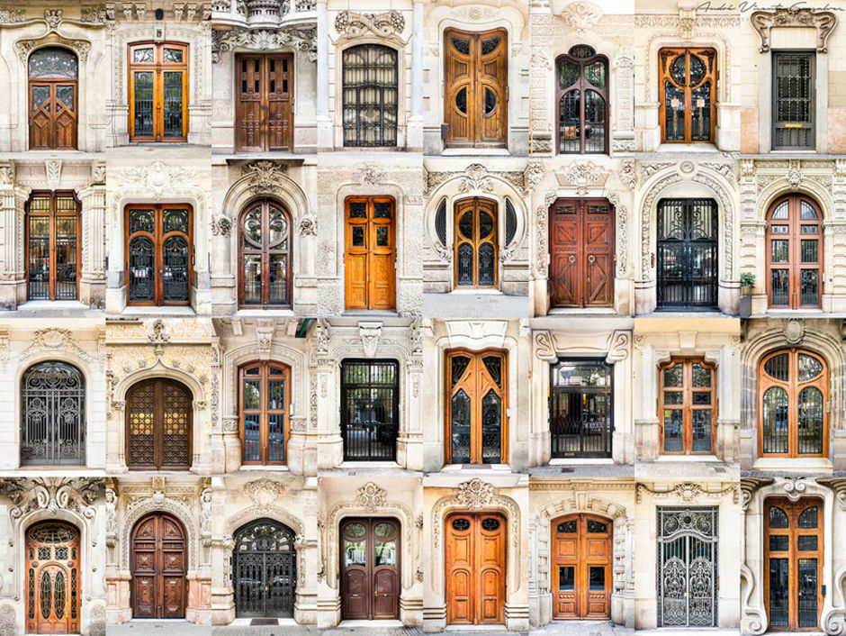 Spain doors by Andre Vicente Goncalves