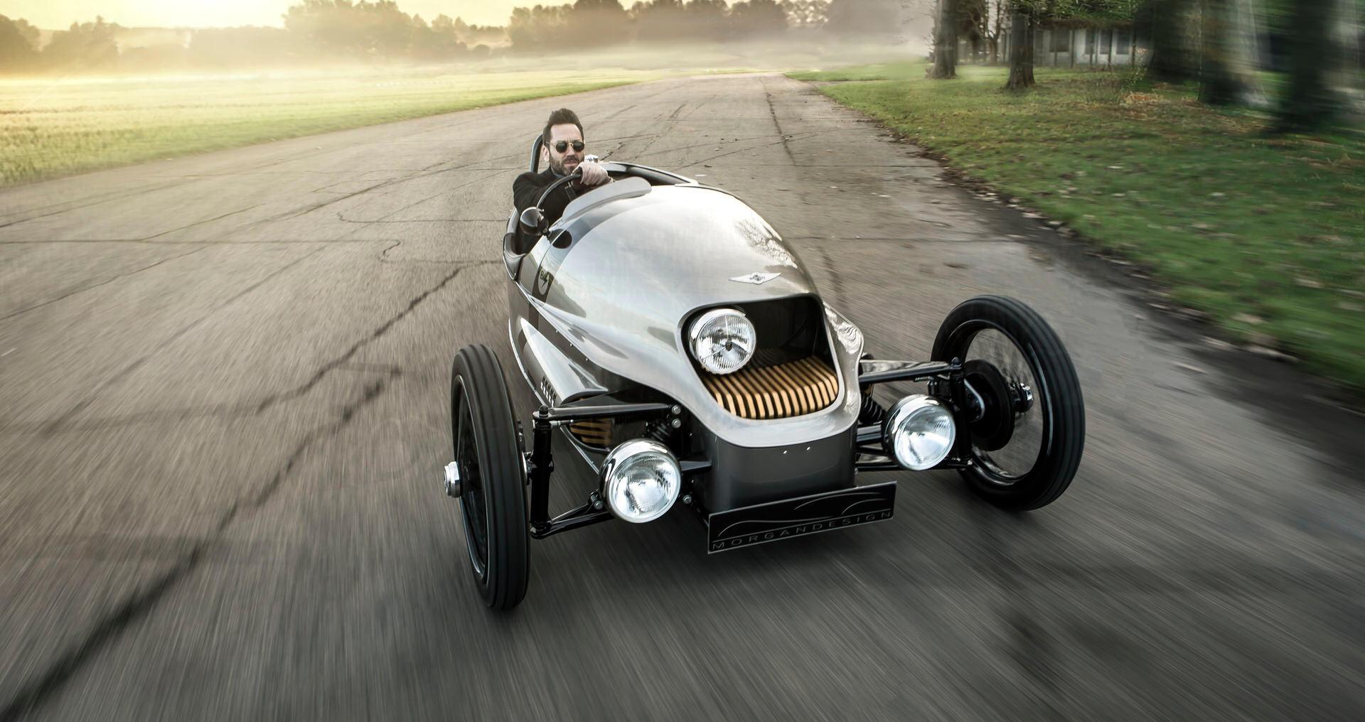 The Morgan EV3 All Electric Car