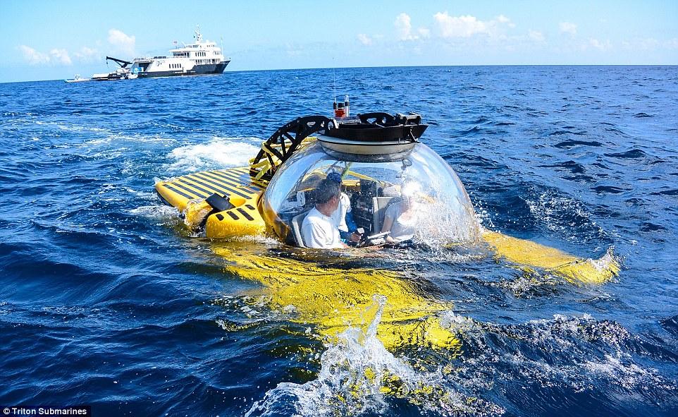 Перснональная подводная лодка Triton Submarine