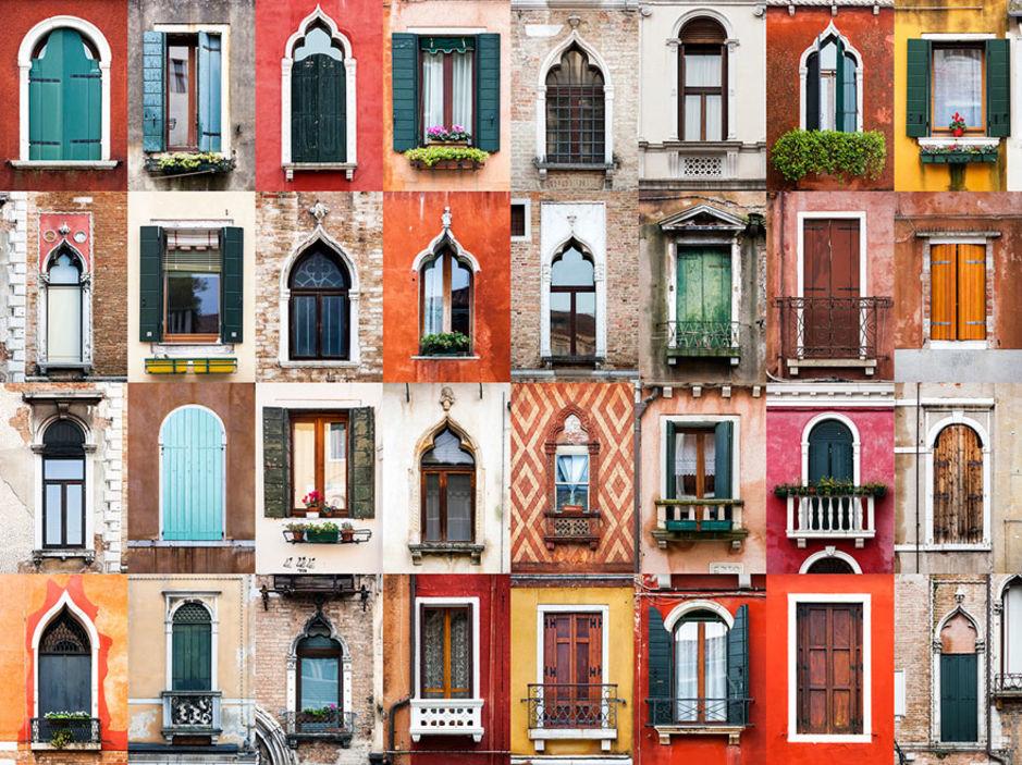Venice windows by Andre Vicente Goncalves