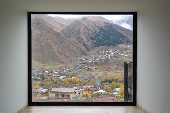 """""""Mount Kazbek in frame, Georgia"""" by Anais Stupka, Italy"""