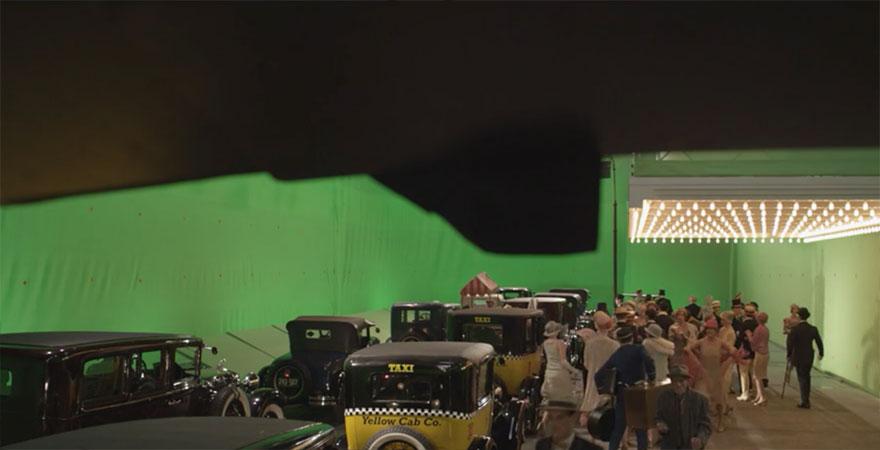 Великий Гэтсби, кадры из фильма до постпродакшена