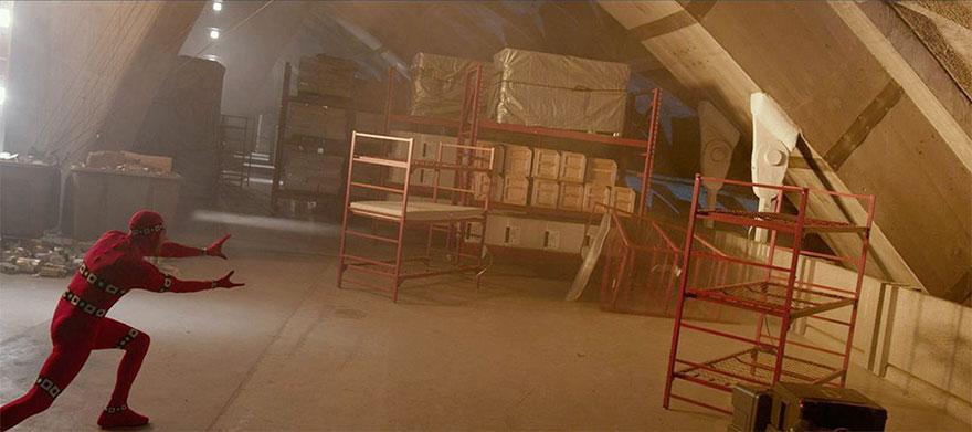 Люди Икс: Дни минувшего будущего, кадры из фильма до постпродакшена
