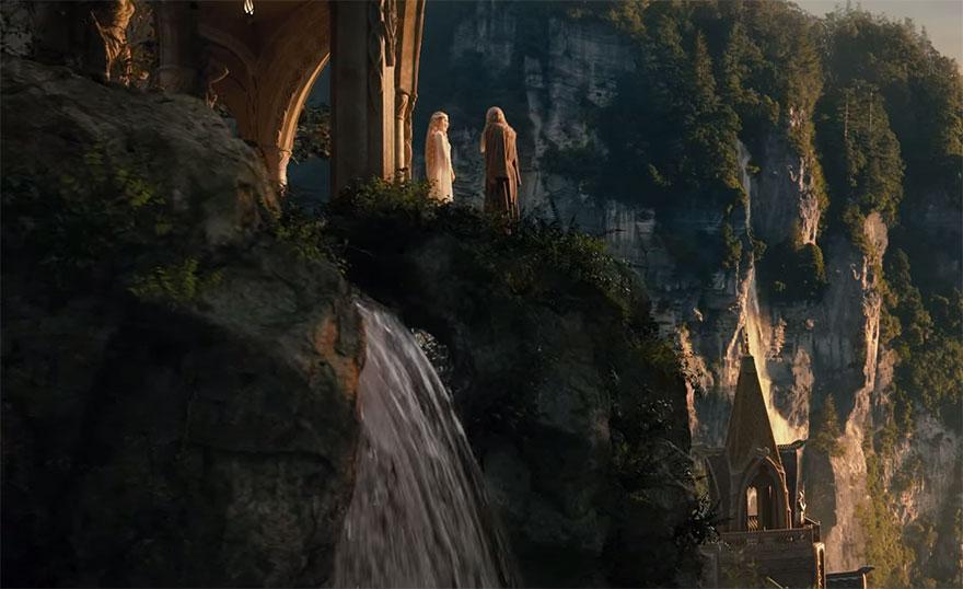 Хоббит, кадры из фильма после постпродакшена