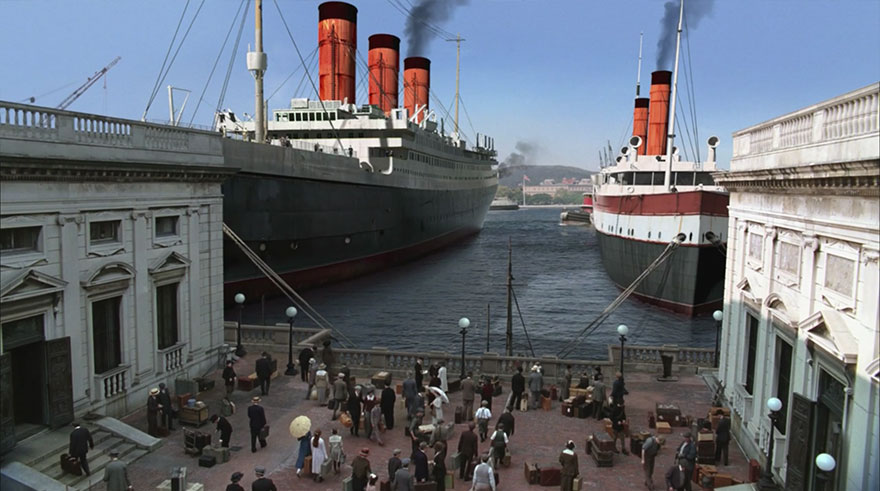 Подпольная империя, кадры из фильма после постпродакшена