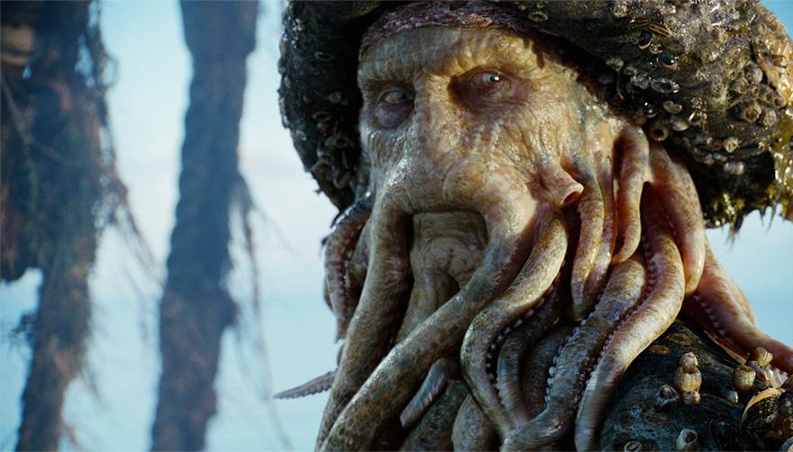 Пираты Карибского моря, кадры из фильма после постпродакшена
