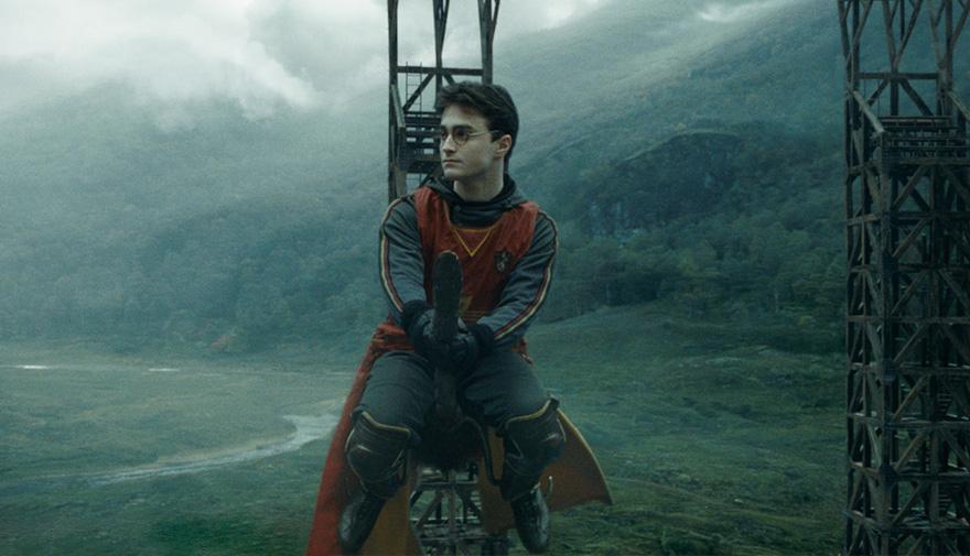 Гарри Поттер, кадры из фильма после постпродакшена