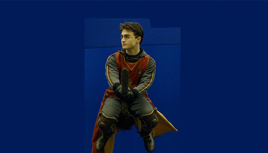 Гарри Поттер, кадры из фильма до постпродакшена
