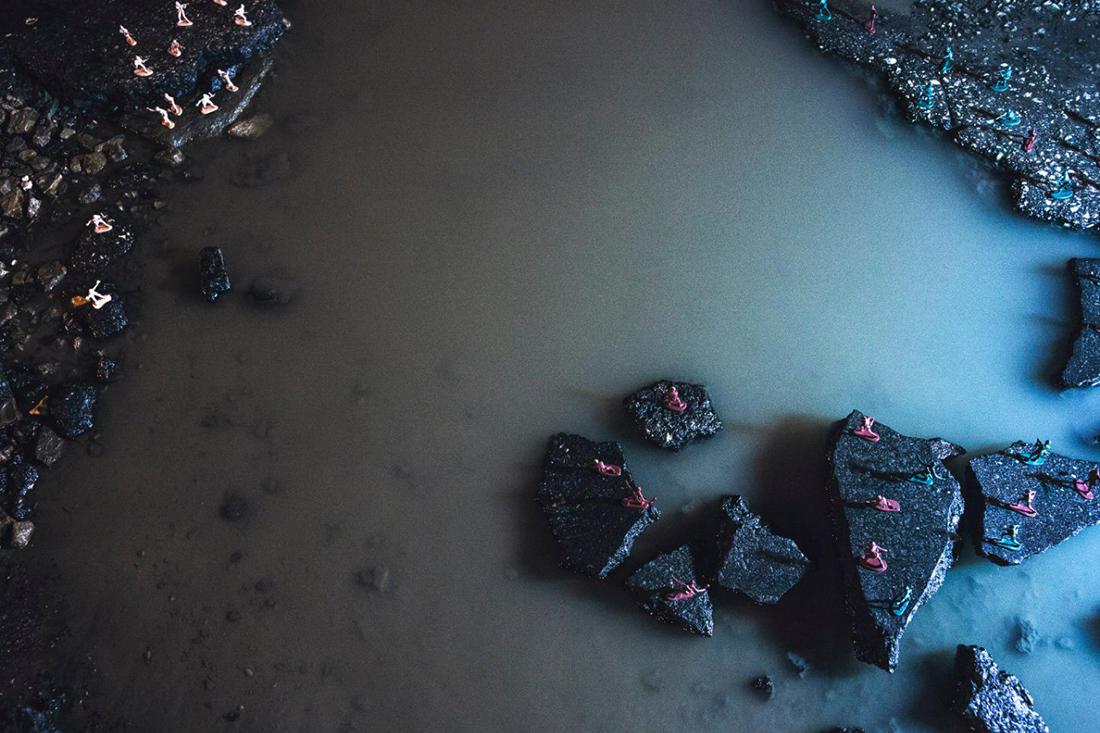 Самарские фотографы превратили дороги в поле боя