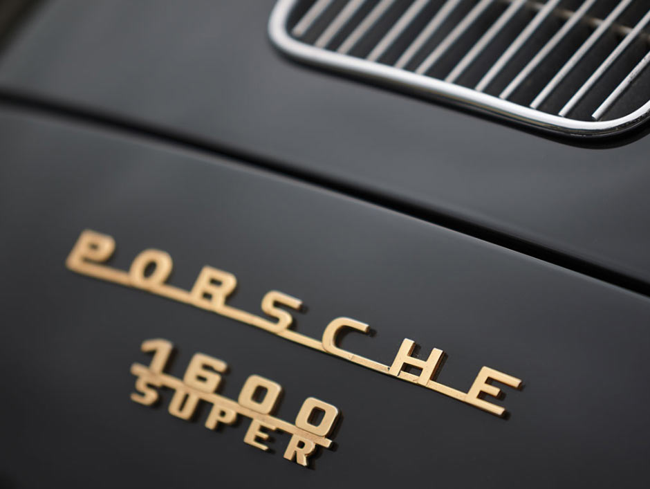 Шильдик Porsche 356B 1600S Roadster