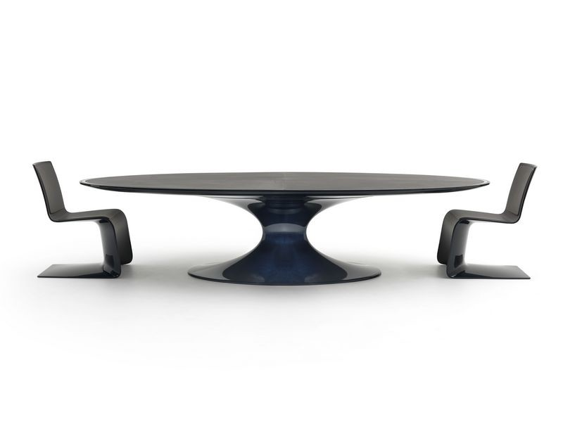 Bugatti home collection Royale lounge table and chairs. Королевские стол и кресла из коллекции мебели Бугатти