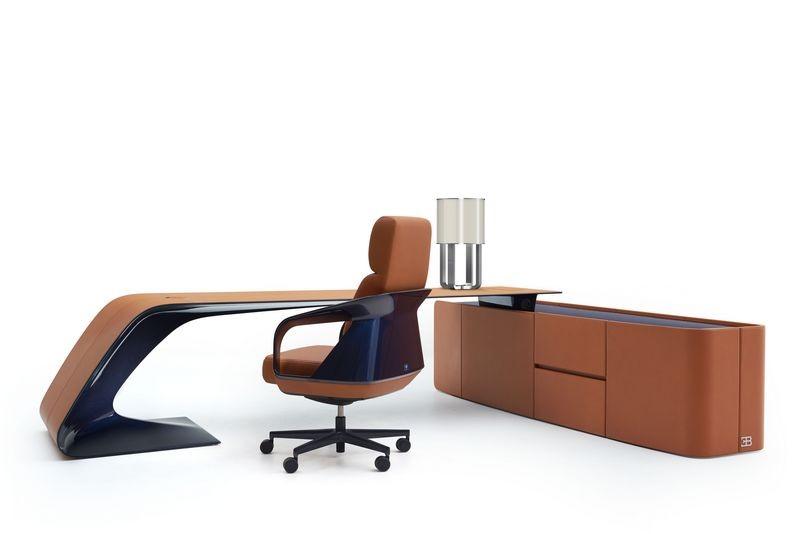 Bugatti home collection Ettore Grand bureau writing desk. Письменный стол из коллекции мебели Бугатти