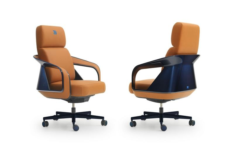 Bugatti home collection Ettore high conference chair. Кресло из коллекции мебели Бугатти