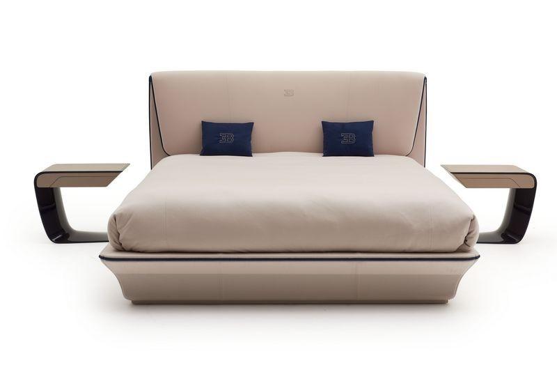 Bugatti home collection Lydia bed and bedside tables. Кровать Лидия с прикроватыми столиками из коллекции мебели Бугатти