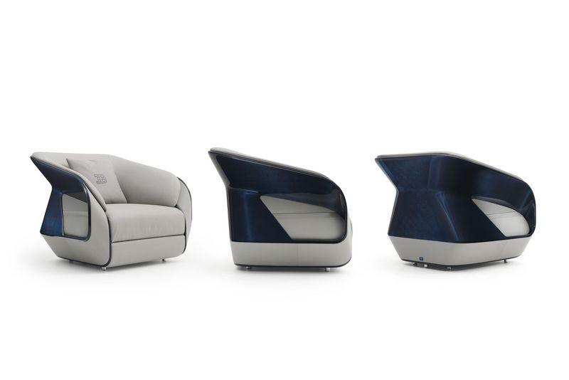 Bugatti home collection Royale armchair. Королевские кресла из коллекции мебели Бугатти