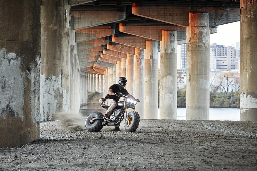 Classified Moto BW650 в действии
