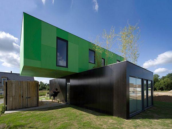 Экологичный дом из транспортных контейнеров