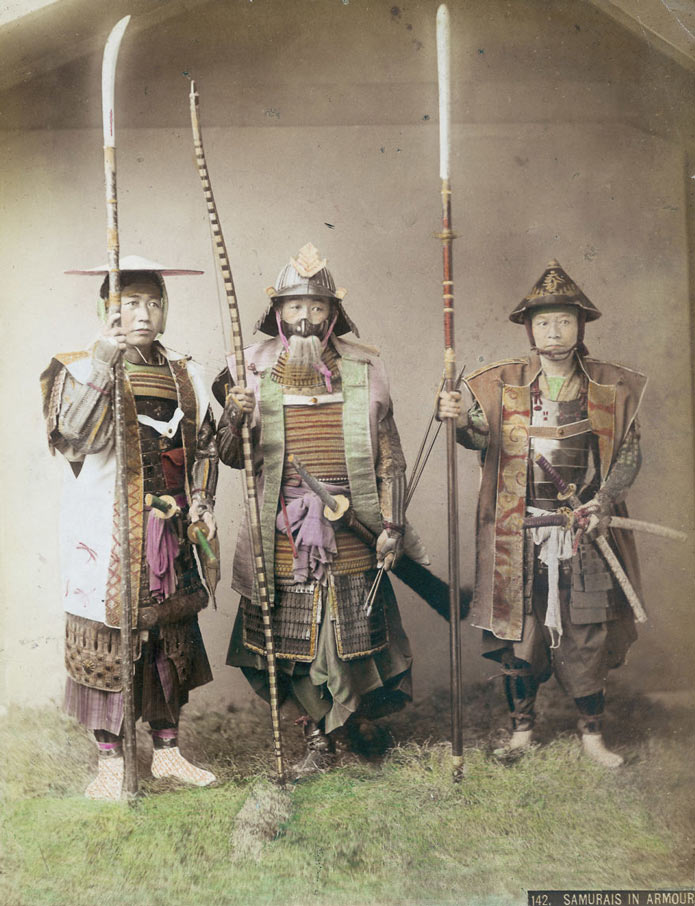 Последний самурай на редких снимках 19 века, Япония