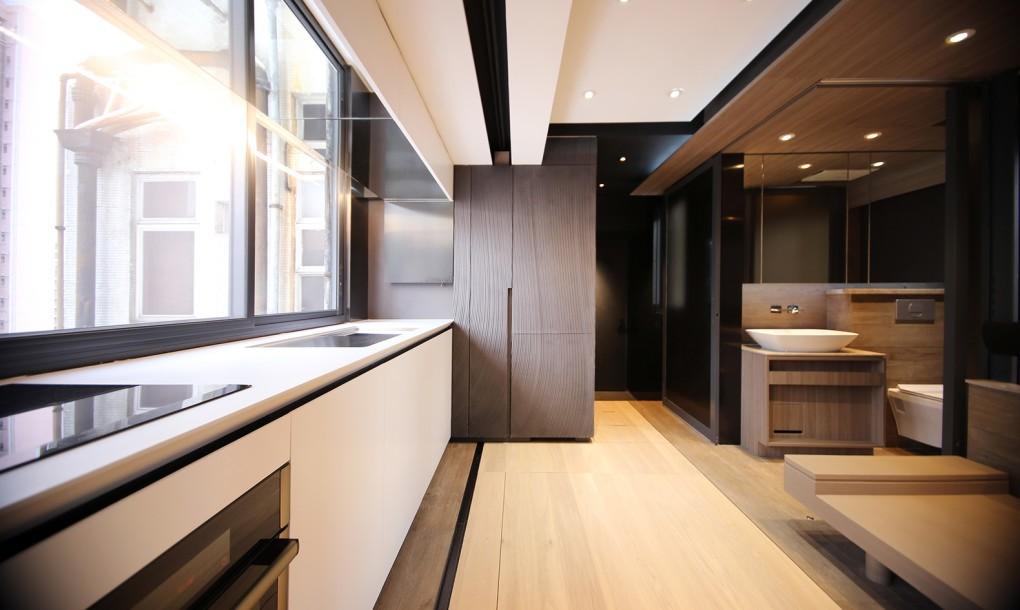 Интерьер кухни 30 кв.м фото