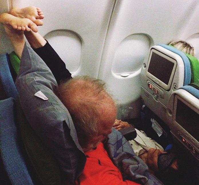 Странные пассажиры в самолетах