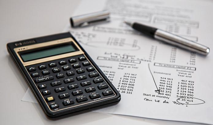 Калькулятор, финансовый расчет