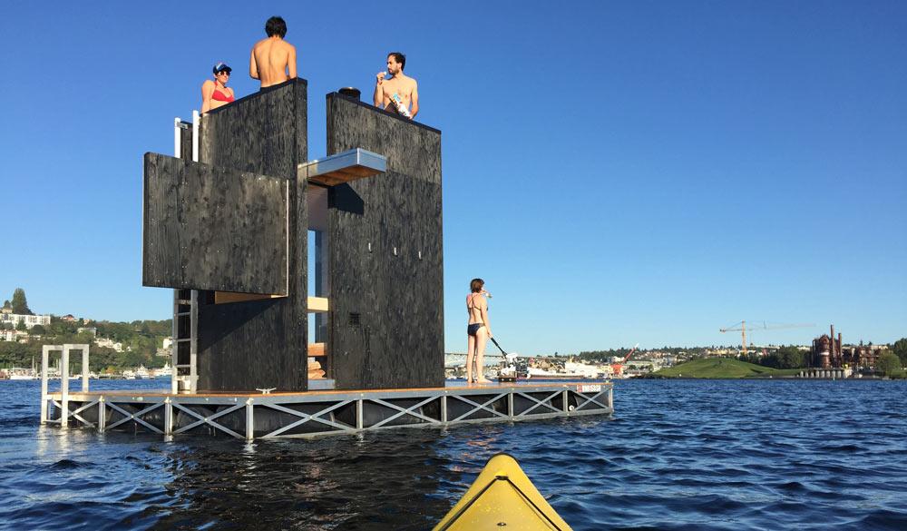 wa_sauna - плавающая сауна от goCstudio