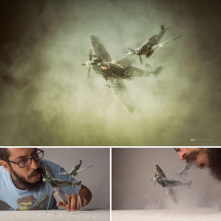 Подбитый. Феликс Хернандес Родригес снимает игрушки с большой фантазией