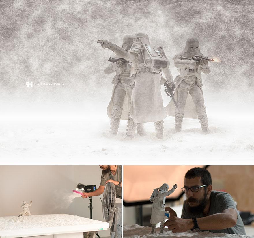 Феликс Хернандес Родригес снимает игрушки с большой фантазией