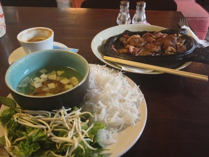 Блюдо вьетнамской кухни