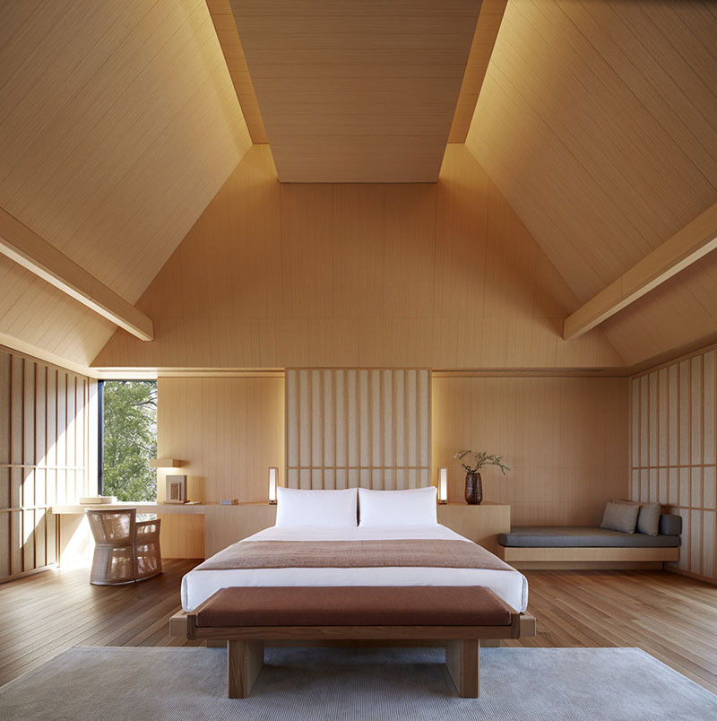 Отель Amanemu Resort, традиционный японский интерьер