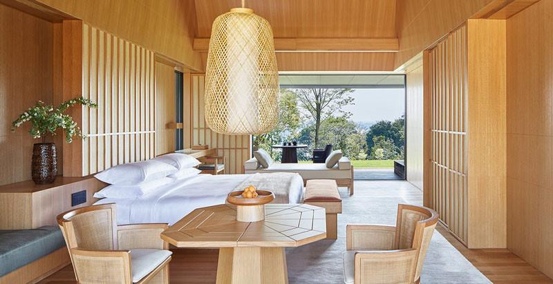 Отель Amanemu Resort, номер в традиционном японском стиле