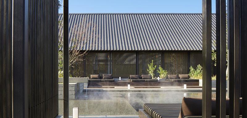Отель Amanemu Resort, горячие ванны