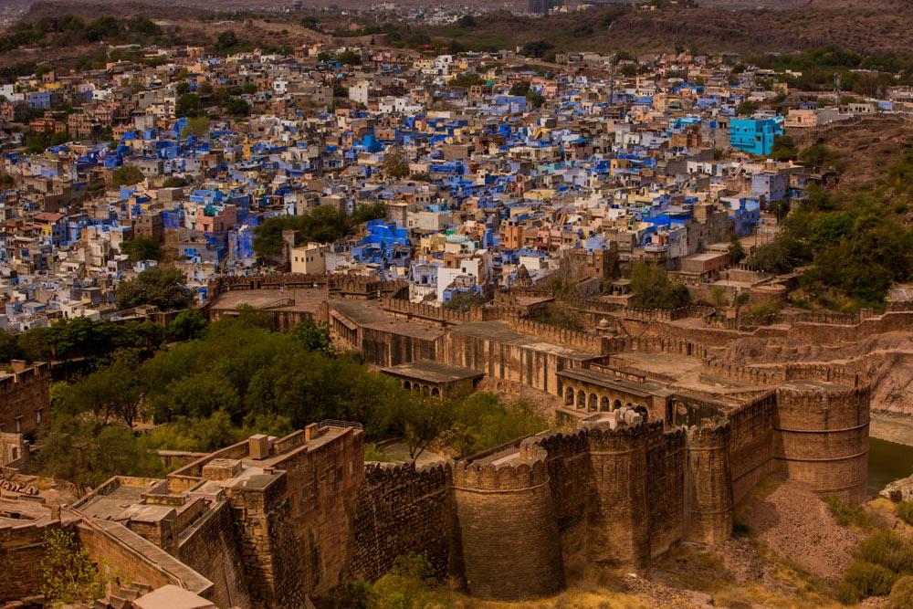 Джодхпур, вид сверху