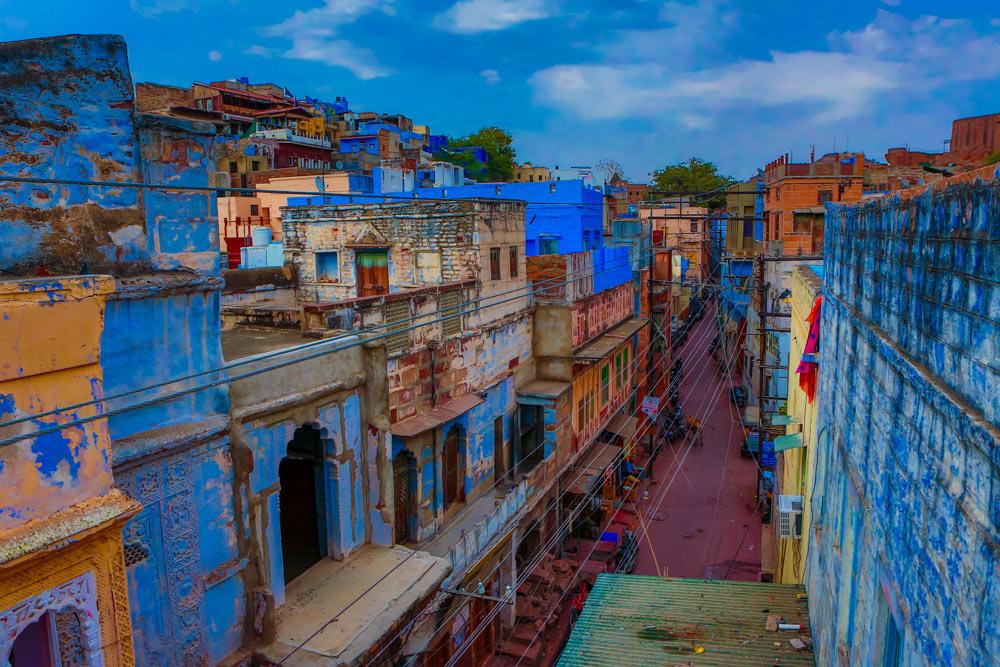 Улицы голубого города Джодхпур