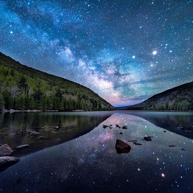 Кристально чистое ночное небо