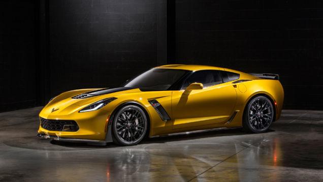 Corvette Z06 авто классика будущего