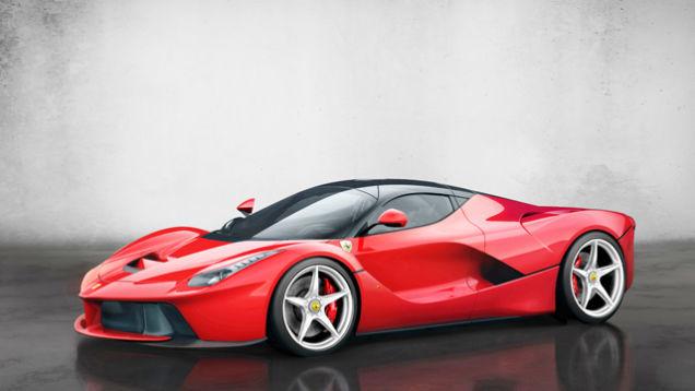Авто классика будущего Ferrari LaFerrari