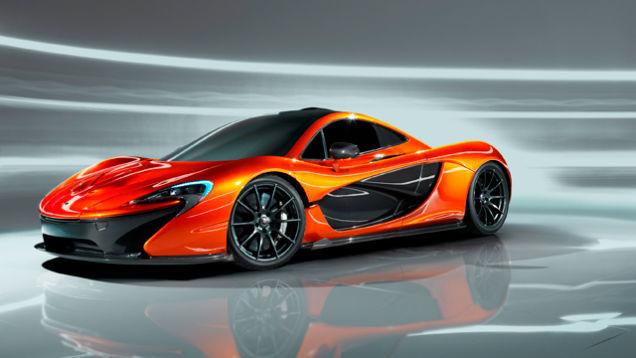 Авто классика будущего McLaren P1