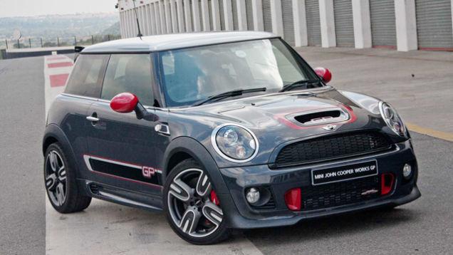 Mini Cooper Works GP будущая авто классика