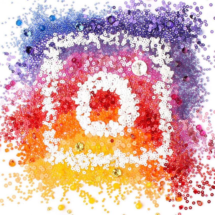 Новый логотип Инстаграм интерпретации