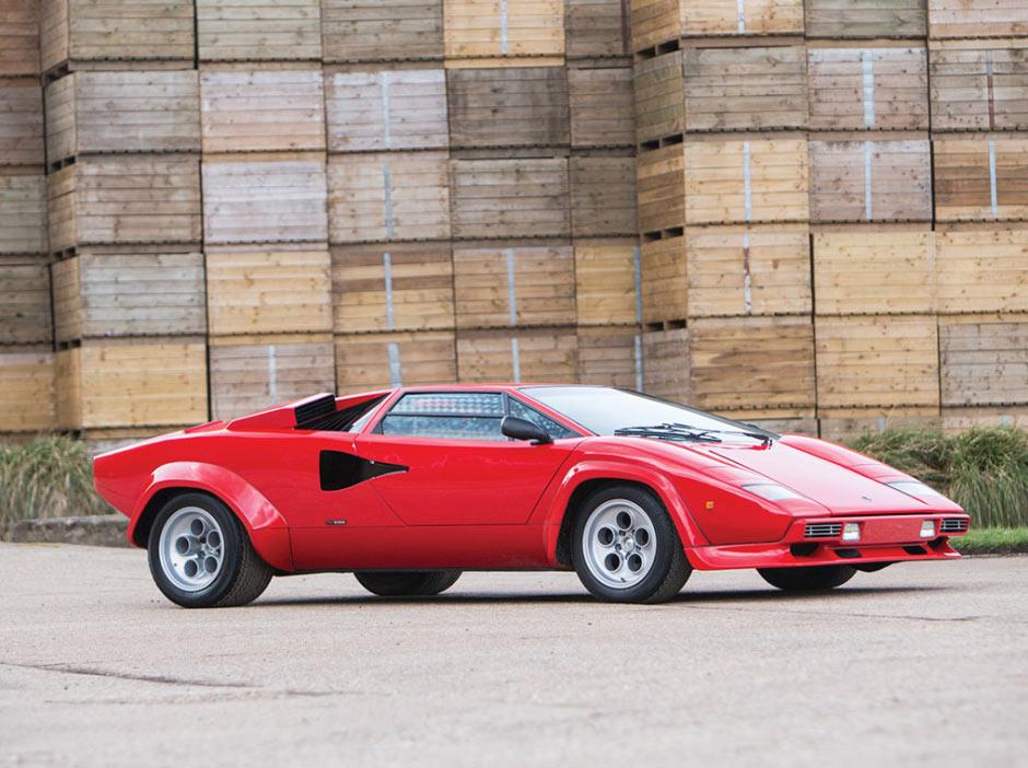 Lamborghini Countach LP400 S Series 1978 года