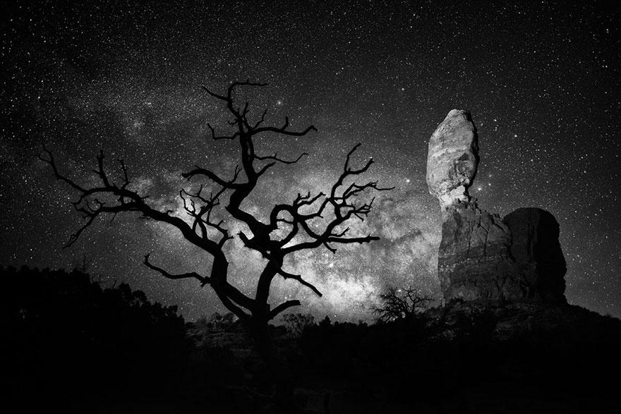 Балансирующая скала, Юта, США, конкурс фотографий National Geographic трэвел-фотограф года 2016