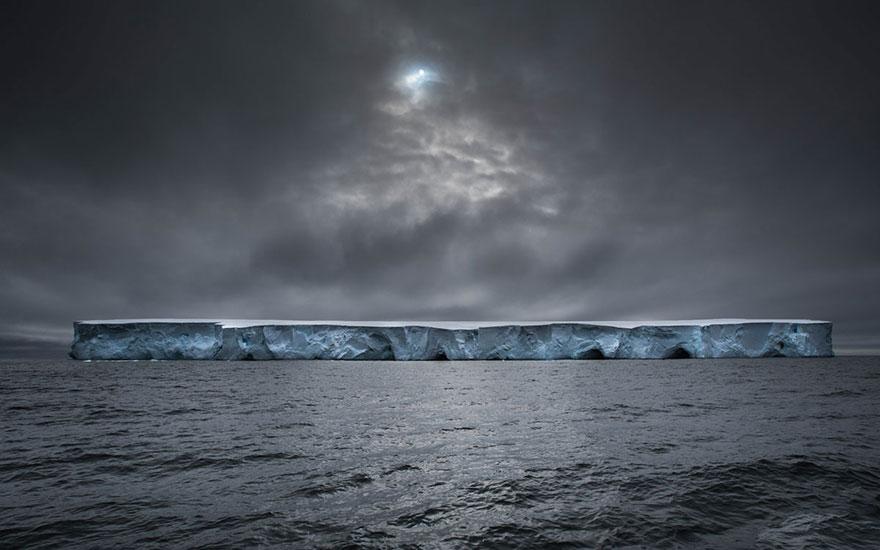 Космический корабль, Антарктика, конкурс фотографий National Geographic трэвел-фотограф года 2016